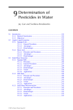 Analysis of Pesticides in Food and Environmental Samples - Chapter 9
