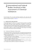 Toxicological Risk Assessment of Chemicals: A Practical Guide - Chapter 2