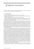 Toxicological Risk Assessment of Chemicals: A Practical Guide - Chapter 7