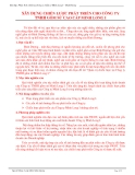 Xây dựng chiến lược phát triển cho công ty TNHH gốm sứ cao cấp Minh Long 1