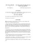 Quyết định số 1672/QĐ-TTg