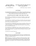 Quyết định số 2825/QĐ-BNN-PC
