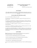 Quyết định số 44/2011/QĐ-UBND