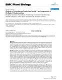 "báo cáo khoa học: "" Analysis of rice glycosyl hydrolase family 1 and expression of Os4bglu12 β-glucosidase"""