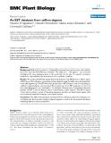 "báo cáo khoa học: ""  An EST database from saffron stigmas"""