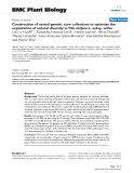 """báo cáo khoa học: """" Construction of nested genetic core collections to optimize the exploitation of natural diversity in Vitis vinifera L. subsp. sativa"""""""