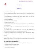 Bài luyện số 3 : Sự điện ly