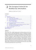 Biodiversity Databases: Techniques, Politics, and Applications - Chapter 2