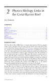 OCEANOGRAPHIC PROCESSES OF CORAL REEFS: Physical and Biological Links in the Great Barrier Reef - Chapter 2