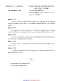 Đề thi học sinh giỏi cấp quốc gia môn Sử 12