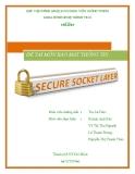 Luận văn tốt nghiệp: SECURE SOCKET LAYER (Bảo mật thông tin)