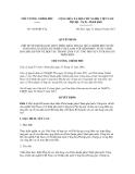 Quyết định số 1864/QĐ-TTg