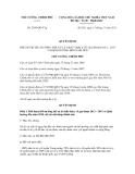 Quyết định số 2038/QĐ-TTg