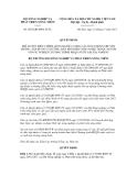Quyết định số 2853/QĐ-BNN-TCTL