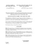 Quyết định số 2866/QĐ-BNN-TCTL