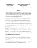 Thông tư số  70/2011/TT-BNNPTNT