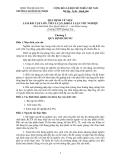 Quy định về việc làm bài tập lớn, tiểu luận, khóa luận tốt nghiệp - CĐSP Quảng Trị