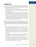Managing ActionsManaging Actions