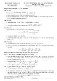Đề thi môn toán khối a_1
