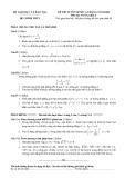 Đề thi môn toán khối a_2