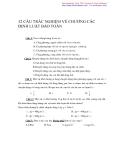 32 câu trắc nghiệm về chương các định luật bảo toàn