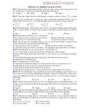 Bài tập các định luật bảo toàn-p1