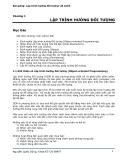 Bài giảng: Lập trình hướng đối tượng với JAVA