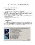 CATIA- Chương 2 : Tổng quan về phần mềm Catia