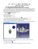 CATIA-Chương 7 : Tạo bản vẽ 2D từ bản vẽ 3D ( generative drafting )