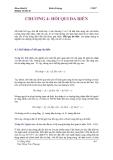 Giáo trình kinh tế lượng Chương 4
