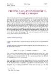 Giáo trình kinh tế lượng Chương 5