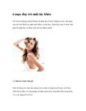 6 mẹo duy trì mái tóc khỏe