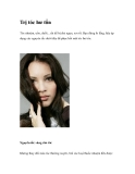 Trị tóc hư tổn