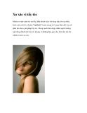 Xơ xác vì tẩy tóc