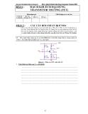 Báo cáo thí nghiệm điện tử tương tự-Bài 6 : Mạch Khuếch Đại Dùng Transistor Trường (FET)