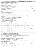 Vấn đề 1: Tổng hợp và phân tích lực