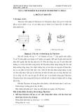 Thí nghiệm mạch kích Thyristor và Triac