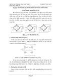 Thí nghiệm chỉnh lưu công suất ba pha