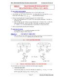 Báo cáo thí nghiệm điện tử tương tự-Bài 2 : Mạch Khuếch Đại Dùng Transistor Lưỡng Cực (BJT)