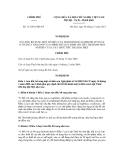 Nghị định số 113/2011/NĐ-CP