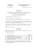 Quyết định số 141/2011/QĐ-UBND