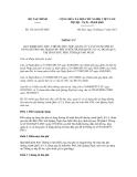 Thông tư số 151/2011/TT-BTC