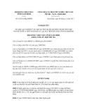 Nghị quyết số 23/2011/NQ-HĐND