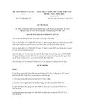 Quyết định số 2577/QĐ-BGTVT