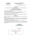 Quyết định số 25/2011/QĐ-UBND