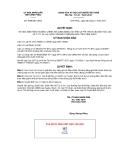 Quyết định số 3099/QĐ-UBND
