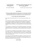 Quyết định số 3434/2011/QĐ-UBND
