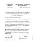 Quyết định số 5218/QĐ-UBND