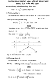 Phương pháp chứng minh một số bất đẳng thức trong tích phân xác định