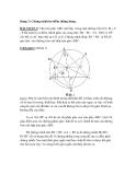 Dạng 3: Chứng minh ba điểm thẳng hàng
